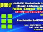 Workshop BlogPreneur