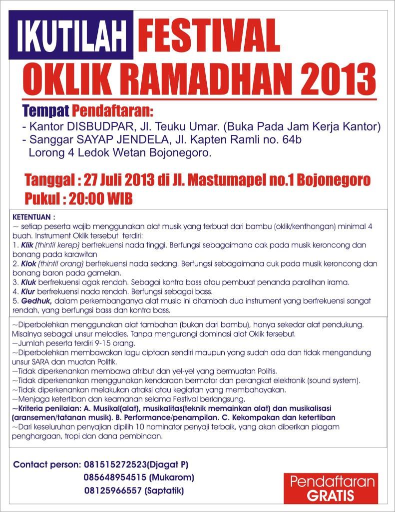 Festival Oklik Ramadhan