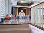 Di dalam Masjid Al Birru Pertiwi Bojonegoro