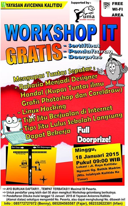 Workshop IT Gratis