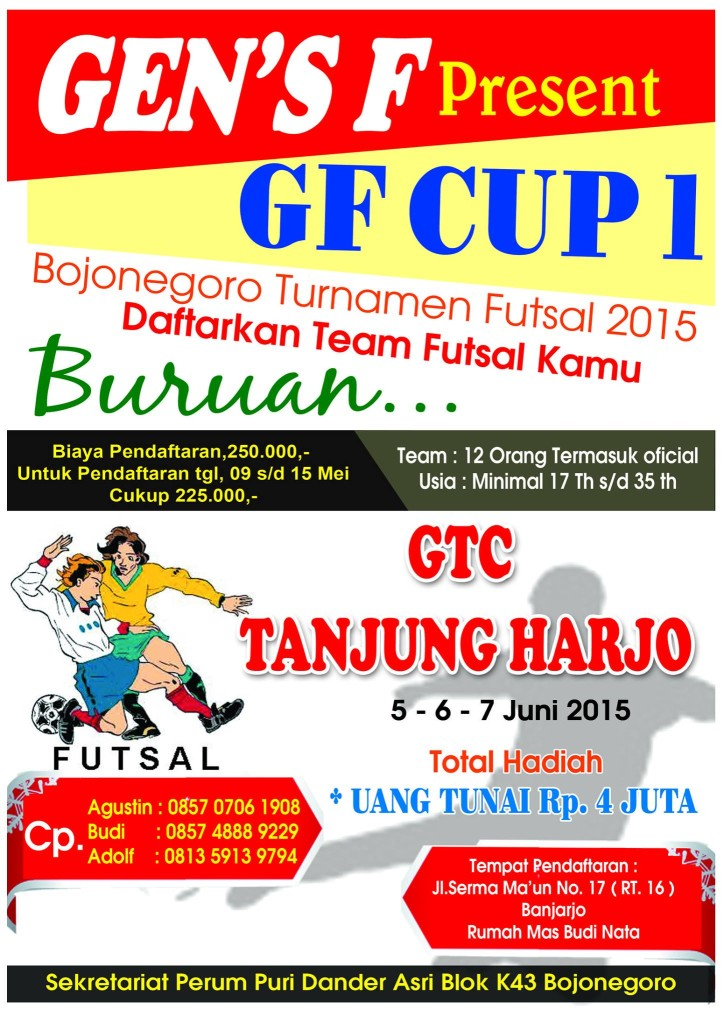 Turnamen Futsal 2015