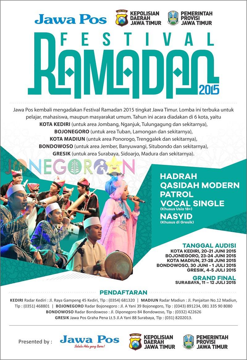 Festival Ramadhan Jawa Pos 2015