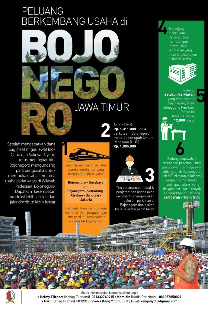 Peluang Usaha Investasi di Bojonegoro