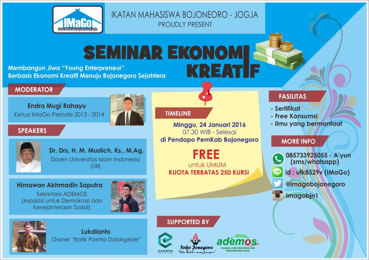 Seminar Ekonomi Kreatif