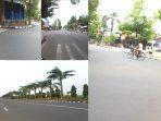 Jalanan Bojonegoro Sepi