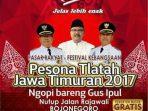 Pesona Tlatah Jawa Timuran 2017 Bojonegoro